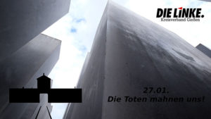 Tag des Gedenkens an die Opfer des Holocaust