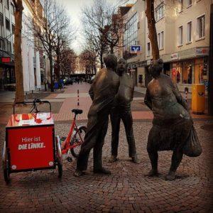 Infostand zur Bundestagswahl 2021 @ am Kugelbrunnen